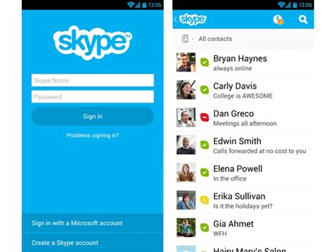 skype android best android apps skype for android apk
