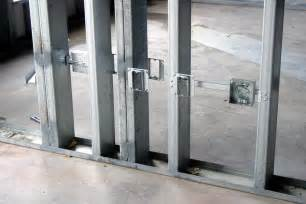 Light Gauge Metal Stud Framing Buildipedia