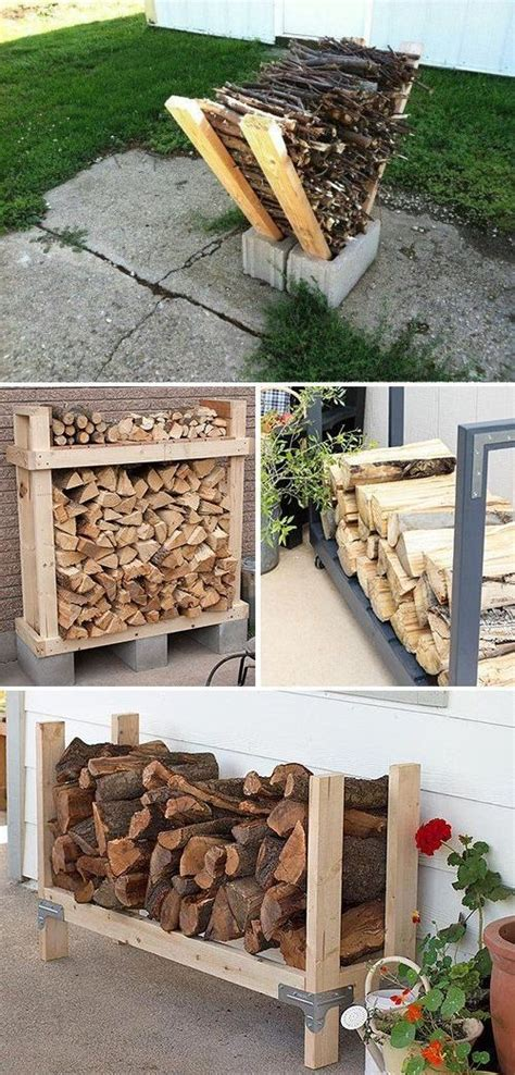 type  art stacking firewood outdoor