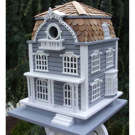 sag harbor bird house mansard roof yard envy