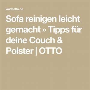 Couch Polster Reinigen : sofa reinigen leicht gemacht tipps f r deine couch polster putzen aufr umen organisieren ~ Markanthonyermac.com Haus und Dekorationen
