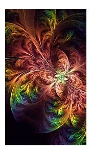 Download wallpaper 3840x2160 fractal, colorful, tangled ...