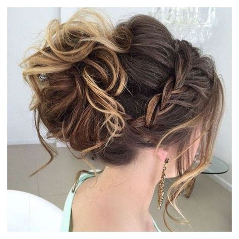 Updo Formal Hairstyles by Best 25 Prom Hair Updo Ideas On Wedding Hair