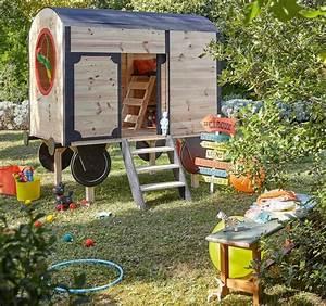 Cabane Enfant Leroy Merlin : maisonnette en bois enfant 60 jolies demeures pour les petits ~ Melissatoandfro.com Idées de Décoration