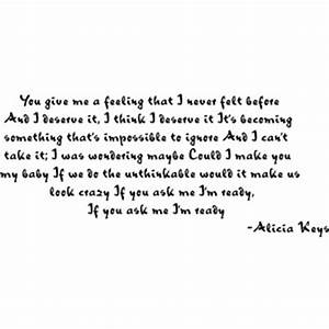 Alicia Keys Unthinkable Lyrics [Quote] By Angelica - Polyvore