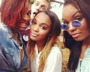China Anne McClain and Her Sisters