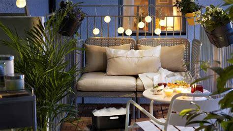 arredamento terrazzo ikea come arredare con stile i piccoli balconi