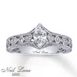 kays jewelers engagement rings neil engagement ring 3 4 ct tw diamonds 14k white gold