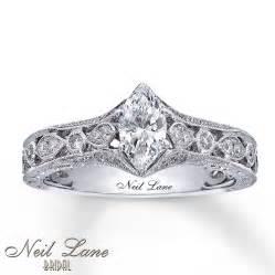 neil wedding rings neil engagement ring 3 4 ct tw diamonds 14k white gold