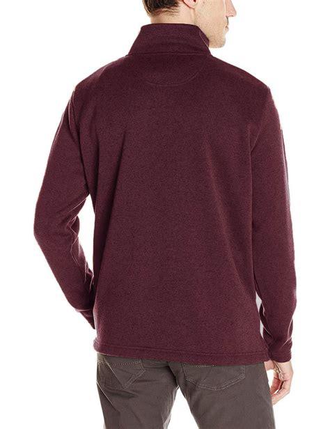 wrangler mens thick knit soft fleece lined quarter zip fleece jumper rrp  ebay