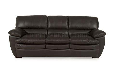 8429 Jasper Sofa & Loveseat Set By Leather Italia Woptions