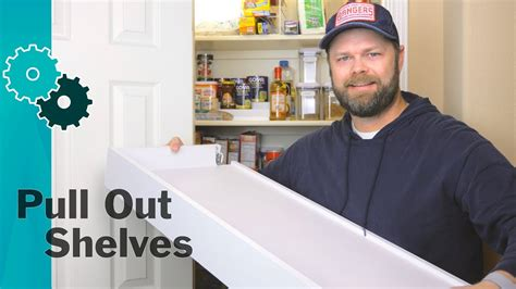 how to make pull out drawers in kitchen cabinets how to make pull out pantry shelves from ikea drawers easy 9918