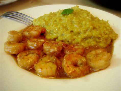 cuisiner crevettes crevettes sauce miel soja mélisse riz coco curry ou