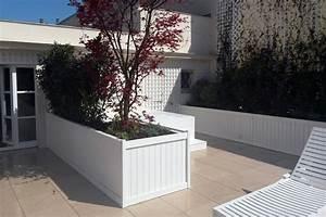 amenagement de la terrasse dune suite a paris jardins With photos terrasses et jardins 2 amenagement terrasses jardins de lorangerie
