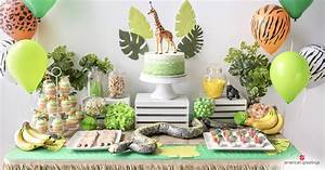 Jungle Birthday Party Ideas - Inspiration