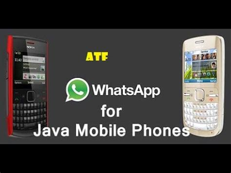 whatsapp for java mobile phones free and install