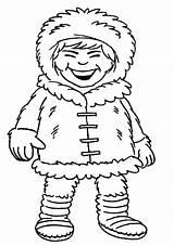 Eskimo Coloring Pages Inuit Drawing Loud Laughing Introducing Getcolorings Printable Igloo Getdrawings sketch template