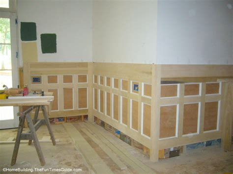 Building Wainscoting Panels by Diy Wainscoting Paneling Adds Value And Style To Your Home
