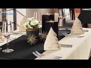 Servietten Tannenbaum Falten : servietten falten tannenbaum tischdeko f r weihnachten von hotelw sche erwin m ller youtube ~ Eleganceandgraceweddings.com Haus und Dekorationen