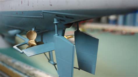 U Boat Propeller by Part Eight Trumpeter Dkm U Boat Type Viic U 552