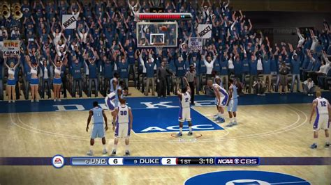 ncaa basketball  xbox  hd demo gameplay duke