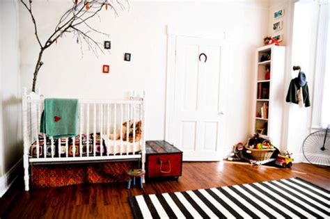16 Ideas To Use Black And White Rugs In A Kids Room