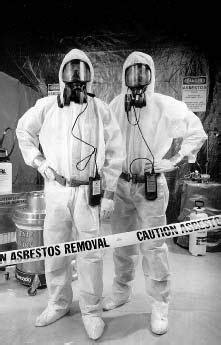 asbestos jar     experienced asbestos