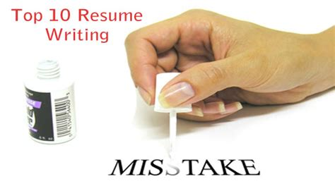 resume writing mistakes 10 things that recruiters in