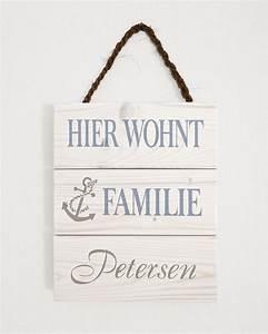 Türschild Familie Holz : 1000 ideen zu namensschilder basteln auf pinterest ~ Lizthompson.info Haus und Dekorationen