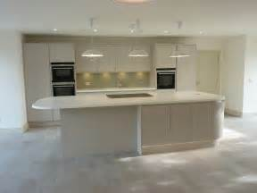 small kitchen island ideas matte handless ashwell contracts ltd