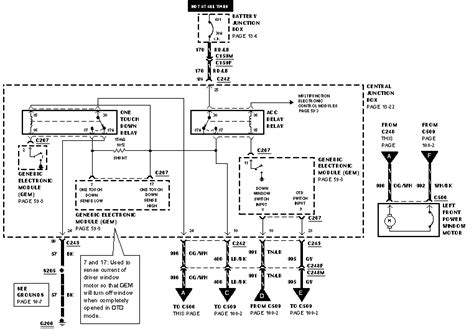 fuse diagram for 1999 expedition 5 4 windows radio lights don t function