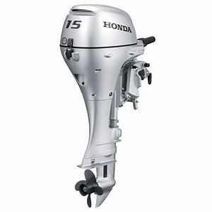 Honda Bf15 Portable Outboard Motor  Manual Start  15 Hp