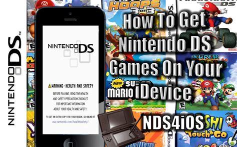 nintendo ds emulator for iphone nintendo ds emulator free for iphone launchdagor