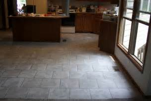brick layed kitchen floor flickr photo sharing