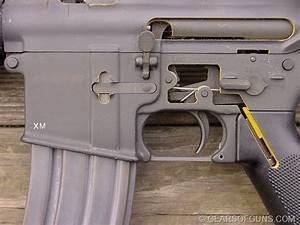 Colt M16a1 Rifle Cutaway