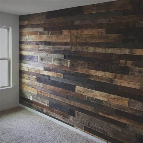 how to cover a wall with wood pasting wood onto wall google search the restaurant pinterest pallet wood walls