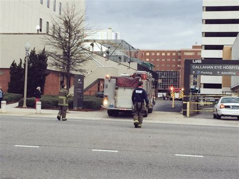 uab parking deck robbery callahan eye hospital parking deck closed due to car