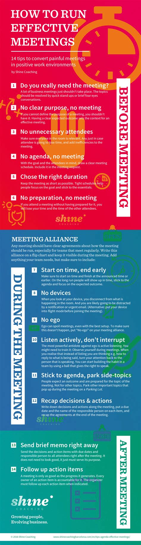 Effective Meetings 14 Tips For Meetings People Will Like