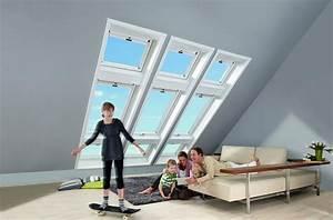 Roto Frank Rollo : roto dachfenster kombination 6er kassette r8 und r6 wohndachfenster dachgauben einbau ~ Frokenaadalensverden.com Haus und Dekorationen