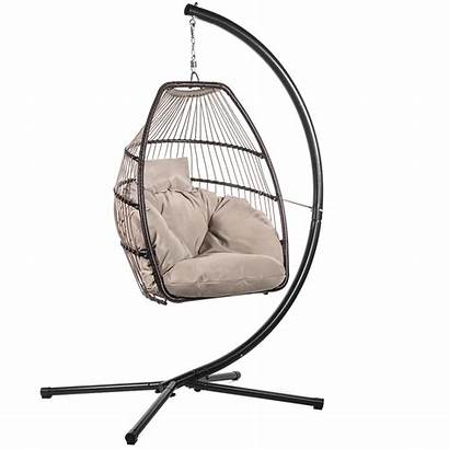 Patio Swing Egg Chair Outdoor Cushion Hanging