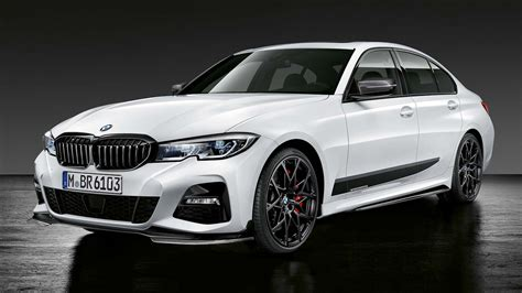 bmw spices up the all new g20 3 series with an m performance kit autobuzz my
