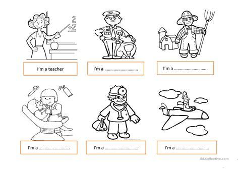 preschool positions occupations worksheet free esl printable 866