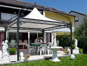 Pavillon Für Garten : bo wi outdoor living profi pavillon antica roma viereckig ~ Michelbontemps.com Haus und Dekorationen