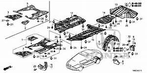 Oem 2015 Honda Civic Sedan Under Cover Parts
