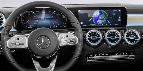 mercedes benz  class interior revealed