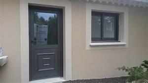 portes d39entree en aluminium fabricant menuiseries With portes d entrée en aluminium