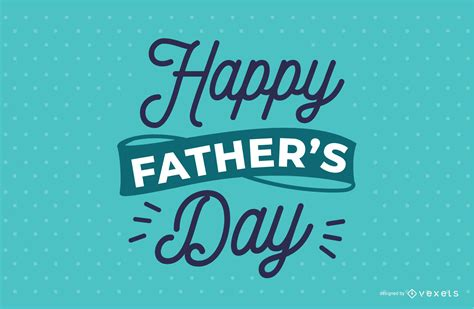 Father's day is a day of honouring fatherhood and paternal bonds, as well as the influence of fathers in society. Father's Day Lettering Design - Vector Download