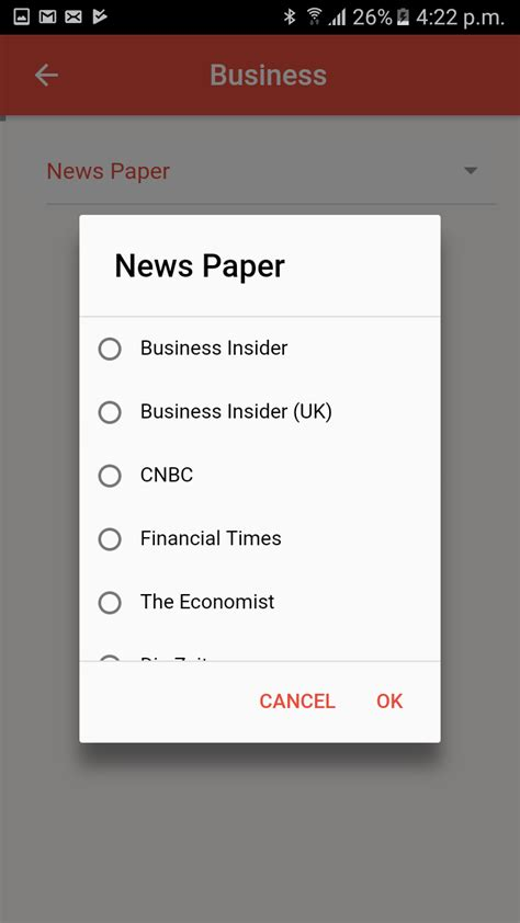 news hub template ionic marketplace