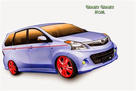 Gambar Mobil Toyota Avanza Veloz by 98 Modifikasi Mobil Avanza Veloz 2015 2018 Modifikasi