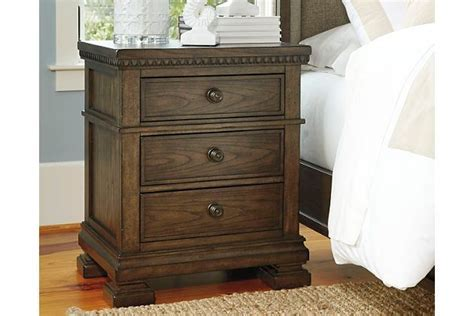 Larrenton Nightstand by Ashley HomeStore, Brown   Products